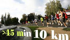 ¿Quieres correr 10 km en menos de 45 minutos?