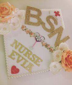 My graduation cap! #BSN #RN #nurse