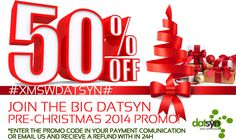 DatSyn Has a Pre Christmas Promo - join now and save on your subscription! Pre Christmas, Seo, Join, Social Media, Social Networks, Social Media Tips