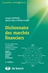 Dictionary of financial markets