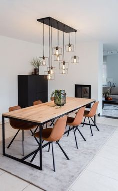 Dining Room Design, Dining Table, Dining Room Decor, Home Decor Inspiration, Decor, House Interior, Living Room Decor, Cheap Home Decor, Dining Room Table