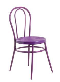 Silla Bistro   #silla #bistro # morado #muebles