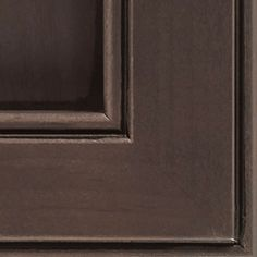 Thunder Black Glaze cabinet finish on Alder allows for most of the grain to show through, creating a deep brownish-grey coverage that has a naturally weathered wood look, topped with a true black glaze.