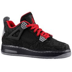 384393-001 Air Jordan Force 4 AJF4 Black white red mid A20004   $105.99  Model: Jordan Fusion  Availability: In Stock http://www.bredshoes.com