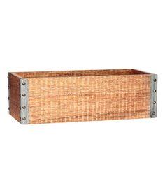 Wooden Box | Beige | Home | H&M US