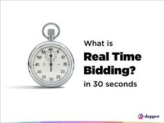 what-is-real-time-bidding-in-30-seconds by Dapper via Slideshare