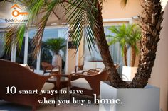 10 smart ways to save money when you buy home.