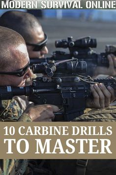 If youre looking to become an ace when shooting a carbine, these 10 drills will improve your accuracy and take it to new heights. Tactical Training, Tactical Survival, Tactical Gear, Weapons Guns, Guns And Ammo, Hunting Guns, Archery Hunting, Deer Hunting, Shooting Targets