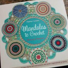 Yay it came. So excited!!!! AND the author's on instagram :))) @byhaafner #crochet #crochetaddict #ilovecrochet #crocheting #crochetingisfun #crafting #mandala #mandalas #crochetmandala #book #bookporn #crochetbook