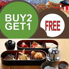 "Due to popular demand and customers' request our ""Buy 2 Get 1 Free"" promotion is now valid for dinner as well. Hurry! come and dine now before the promotion ends.  For reservation please call 603-7980 8228 or click the ""Book Now"" button on our Facebook page.  #ishin #setlunch #setdinner #promotion #sashimi #sushi #JapaneseFood #kaiseki #finedining #food #omakase #wine #sake #Kirin #beer #foodporn #wine #yummy #foodporn #instafood #delicious #foodie #eat #foodgasm #foodpic #cooking #love by…"