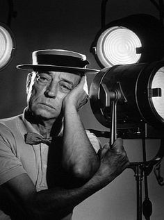 Buster Keaton (4/10/1895 - 1/2/1966) Age: 70