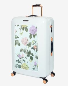 Large distinguishing rose suitcase - Mint | Bags | Other Europe Site