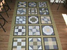 Different blocks quilt