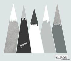 ZESTAW naklejek do pokoju dziecinnego GÓRY chroni ścianę przed zabrudzeniami (są zmywalne), i tworzy unikalny klimat. Powierzchnia tablicowa tworzy przestrzeń do kreatywnej zabawy i nauki. Komplet wykonany w dowolnych innych kolorach z karty kolorów CGHOME na życzenie. W naszym zestawie: SILV...