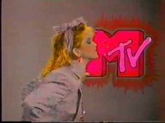 """1985 """"I Want My MTV"""" featuring several rock stars of the period Mtv Music Television, Decades Fashion, 80s Aesthetic, Aesthetic Fashion, 80s Pop, Mtv Videos, Old Tv Shows, Vaporwave, New Wave"""