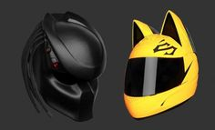 If you find the yellow police helmets cool, but want a different design, If you want to make impression to other bikers, this is your chance. And remember the laughing from your friends is NOT over your new helmet, it about the person behind you.