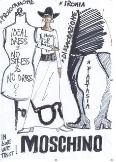 Moschino by Beatrice Brandini www.beatricebrandini.it