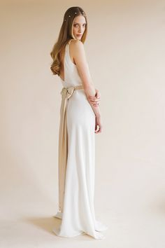 Charlie Brear Dress Bride Gown Bridal Fashion Forward Boho Bridal Editorial Wedding Ideas http://www.emmapilkingtonweddings.co.uk/