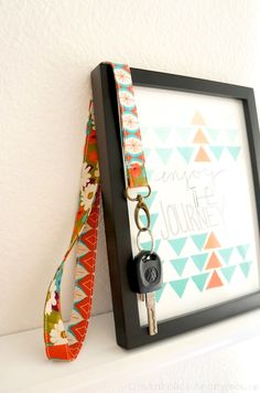 Craftaholics Anonymous® | Easy Key Lanyard Tutorial
