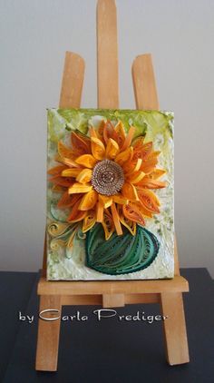 Girassol - (translation: Sunflower) - by: Carla Prediger