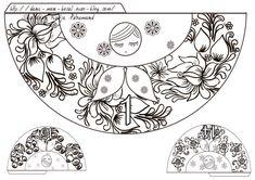 Qu'est ce qu'on fait aujourd'hui ? oh la la!!! bientôt le 1er décembre il est donc grand temps de préparer notre calendrier de l'Avent Nous avons déja plusieurs calendriers de l'Avent dans le bocal ça ne sera donc pas un calendrier à surprises Cette année... Christmas Origami, Kids Christmas, Handmade Christmas, Origami Butterfly, Thinking Day, Matryoshka Doll, Printable Designs, Printables, Preschool Art