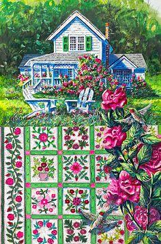 Rose-Sampler.jpg 594×900 pixels  by Diane Phalen