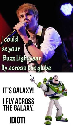 Sorry Justin Bieber. Buzz Lightyear, Camille Thomas, Haha, Just In Case, Just For You, Jenifer Lawrence, Funny Commercials, Youre My Person, Funny Images
