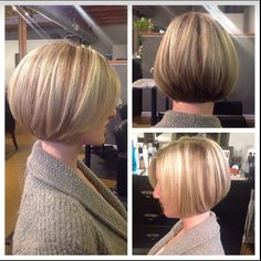 New hair color Mom Hairstyles, Haircuts For Fine Hair, Short Bob Hairstyles, Short Hair With Layers, Short Hair Cuts, Medium Hair Styles, Curly Hair Styles, Shortish Hair, Short Hair Dont Care