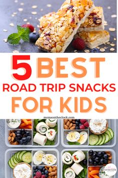 Healthy Toddler Meals, Healthy Snacks For Kids, Kids Meals, Healthy Recipes, Lifestyle Group, Healthy Lifestyle, Best Road Trip Snacks, Road Trip Essentials, Travel Organization