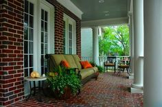 Great front porch found in Tucker Hill (McKinney, TX)