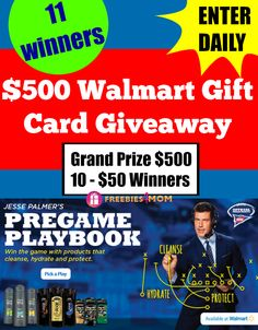 What would you spend a $500 Walmart gift card on?  ‪#‎GIVEAWAY‬ http://freebies4mom.com/pregame500 ‪#‎ad‬  ENTER my ‪#‎PregamePride‬ Giveaway and you might win it! (ends Dec. 13)