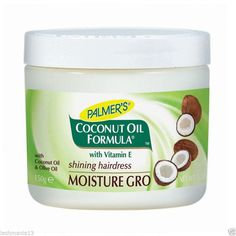PALMER'S PALMER'S COCONUT OIL FORMULA WITH VITAMIN E SHINING HAIRDRESS MOISTURE GRO 150Ge