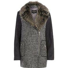 Rivet Island coat
