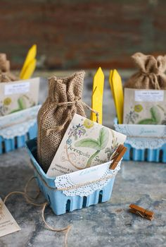 Earth Day Craft: Spring Garden Seed Kit - Simple Bites Upcycled Crafts, Easy Crafts, Crafts For Kids, Craft Box, Craft Kits, Diy Mother's Day Food, Mother's Day Background, Earth Day Crafts, Berry Baskets