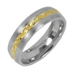 Unisex snubní prsten L´amuor z chirurgické oceli KMR10006 velikost 50