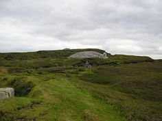 "Carrowkeel is a Neolithic passage tomb cemetery in the south of County Sligo, Ireland. Circumstantial Carbon 14 dating places the tombs at between 5400 and 5100 years old (3400 to 3100 BC), so that they predate the Pyramids on Egypt's Giza plateau by 500–800 years. Carrowkeel is one of the ""big four"" passage tomb cemeteries in Ireland. It is set on high ground above Lough Arrow, and the tombs seem to be oriented towards the area of Cuil Irra, Knocknarea and Carrowmore."