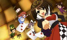 The Melancholy of Haruhi Suzumiya cards