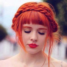 #2016 #Hairstyle #Fashion #Women #Mode #Model #Girl #Beauty #Beautiful   9.Red Haarfarbe