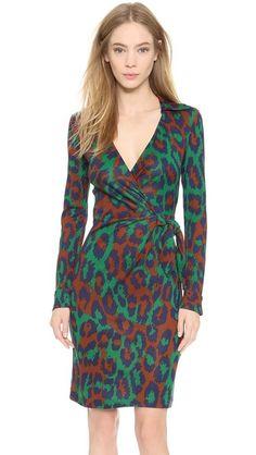 Diane von Furstenberg Savannah Wrap Dress | SHOPBOP