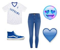"""A Little Something ; )"" by really-rayy ❤ liked on Polyvore featuring Vans and River Island"