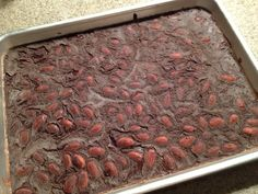 Feel Divine Food: Carob-Mint and Almond Faux-Chocolate. Try with peanuts and no mint