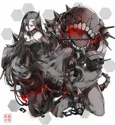 「戦艦水鬼」/「Nine」のイラスト [pixiv]