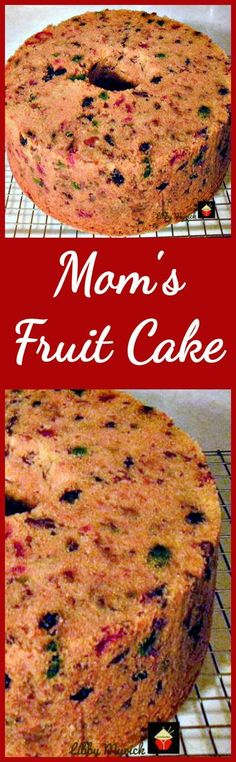 Mom's Fruitcake is a great family recipe passed down the generations and comes with a delicious pineapple glaze recipe too! Just Desserts, Delicious Desserts, Yummy Food, Cake Recipes, Dessert Recipes, Kolaci I Torte, Christmas Cooking, Christmas Time, Pineapple Glaze