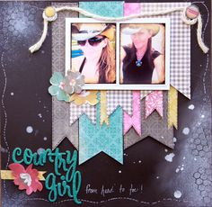 Country Girl - Scrapbook.com