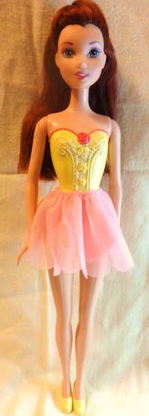 BALLERINA PRINCESS BELLE Beauty And The Beast Disney Princess Mattel Doll DisneyPrincess Belle