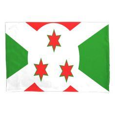 Flag Of Burundi Pillowcase