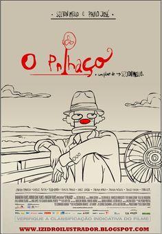 izidrostudio - Ilustração editorial e publicitária: Cartaz do filme O palhaço