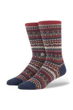 New merino wool socks from Stance - cozy sweaters for your feet!