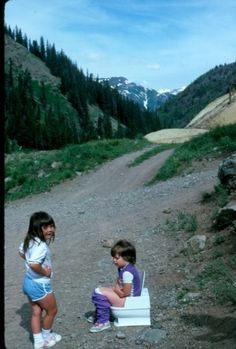 When you've got to go...  omg.. my life as a child on family road trips.