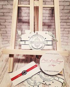 Aparacik Ladder Decor, Invitations, Frame, Handmade, Home Decor, Picture Frame, A Frame, Craft, Interior Design